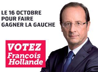 Le 16 octobre votez Hollande