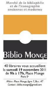 Biblio Monge 19 novembre 2011